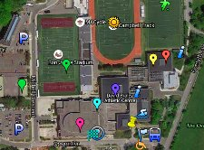 McMaster Camps Map