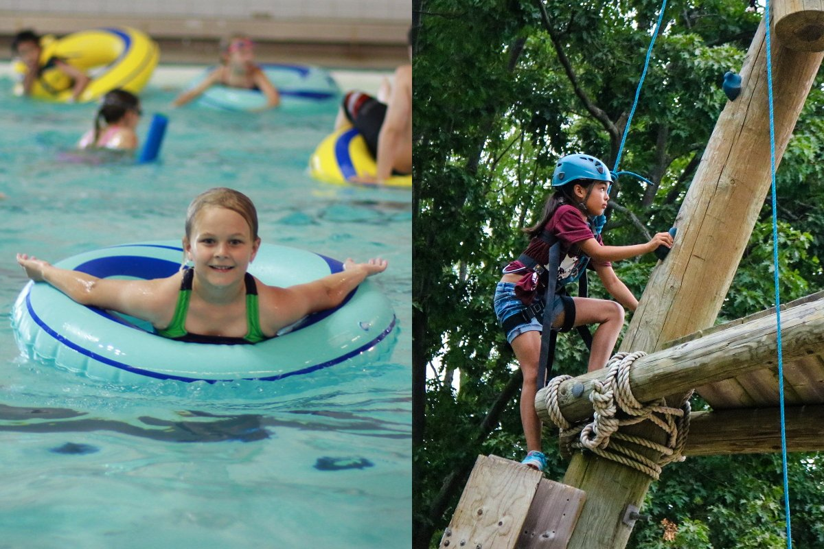 Swim in Our Olympic Pool & Climb Our Alpine Tower
