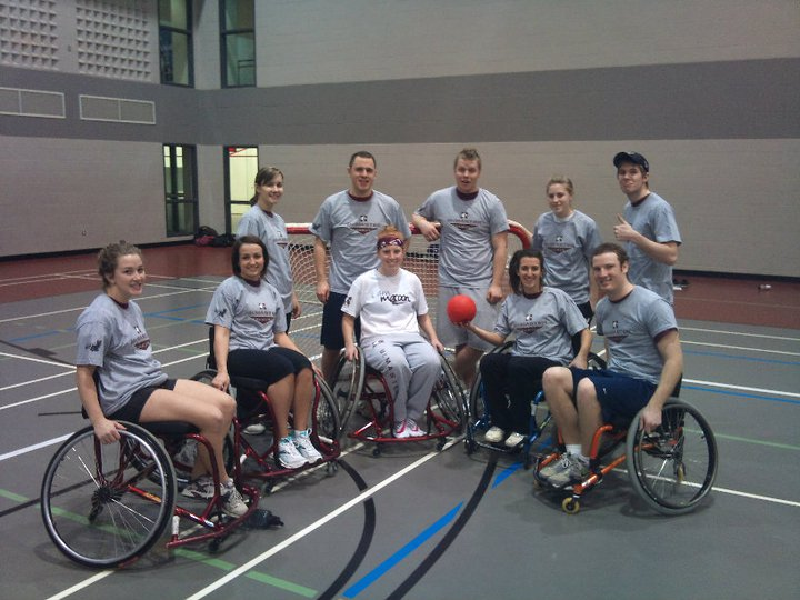 Intramural Wheelchair European Handball