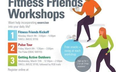 Fitness Friends Workshops