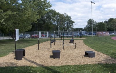 Outdoor Fitness Circuit