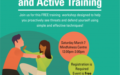 Self Defense, Proactive and Active Training Workshop