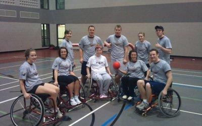 Intramural Wheelchair European Handball